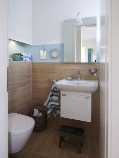 Farbgestaltung Gästebad  Edition 425 WOHNIDEE-Haus - Familienhaus zum Wohlfühlen - Viebrockhaus