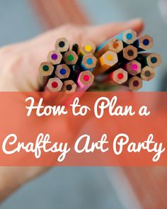 How to Plan a Craftsy Art Party by Renee Tougas