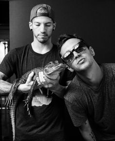 This is what happens when you take Josh and Tyler to Florida