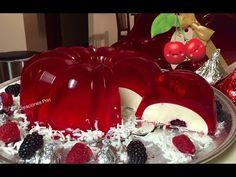 "Gelatina flotatina ,rellena de 3 leches ,queso crema y fruta a dentro "" By Creaciones Prin "" Si te gusta dinos HOLA y dale a Me Gusta MIREN … | Receitas Soberanas"