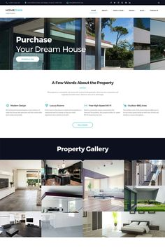 HOMEOWN HTML responsive template will help you to create a trustworthy website. Multiple header and footer layouts will help you to sculpt your website's look and more than 35 pre-made pages simplifies and fastens the building process. The template also has a convenient online eCommerce shop. #realestatewebsite #htmlrealestate #html5 https://www.templatemonster.com/website-templates/homeown-luxury-single-property-selling-company-multipage-html-website-template-67585.html/