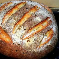 TODAS LAS RECETAS : PAN DE PAPAS, ROMERO Y AJO Pan Bread, Bread Cake, Ciabatta, Bread Recipes, Snack Recipes, Snacks, Baguette, Pan Dulce, Artisan Bread