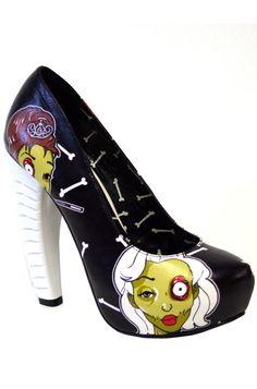 Too Fast Zombiewood Heel