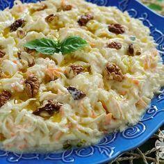 Celery Salad with Yogurt – Diet and Nutrition Macaroni Salad, Macaroni And Cheese, Turkish Salad, Yogurt, Turkish Recipes, Ethnic Recipes, Celery Salad, Apple Salad, Salad Recipes