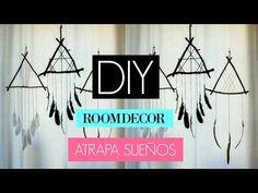 ATRAPA SUEÑOS TUMBLR (DIY FACIL)  BEZZYXOX - YouTube