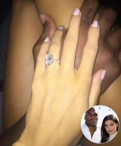 All the Details on Nicole Williams' Enormous $250,000 Engagement Ring from NFL Star Larry English