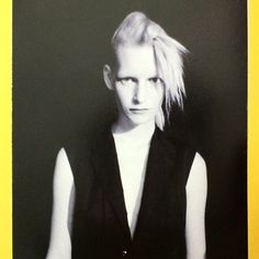 """""""OK. Kirsten Owen by Mark Borthwick for Yohji Yamamoto in 1996. This from the brilliant new Japanese only book All About Yohji Yamamoto. We have FOUR…"""""""