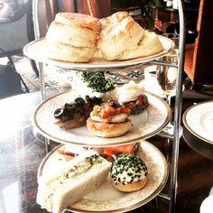 Afternoon Tea at the Powerscourt Estate in Ireland