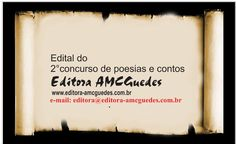 Editora AMC Guedes: Participe! divulgue!