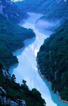 Grand Canyon of Verdon, Castellane, Provence-Alpes-Cote d'Azur, France