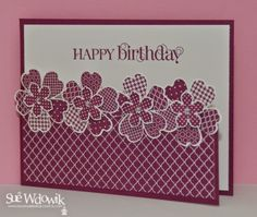 March 2014 Card Class featuring Stampin' Up! Flower Shop and Petite Petals