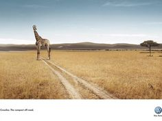 Volkswagen:  Giraffe