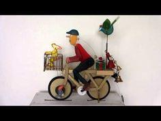 AUTOMATA 彼女へのプレゼントのせて自転車で急いでいます。 - YouTube