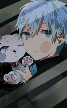 Kuroko no Basket ♥ (KNB) Kuroko Tetsuya Bildschirmsperre - Otaku Anime, Manga Anime, Fanarts Anime, Anime Characters, Anime Art, Wallpaper Animes, Animes Wallpapers, Chibi, Anime Love