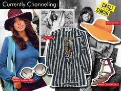 Carly Simon - Who What Were Carly Simon, Women Of Rock, Proenza Schouler, Jeffrey Campbell, Who What Wear, Topshop, Board, Google, Image