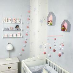déco chambre d'enfant : collection Chambre Rose