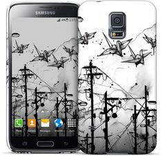 Cable Cranes Samsung Case - Nuvango Gallery & Goods - 1
