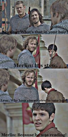 merlin you're gonna pay for that...