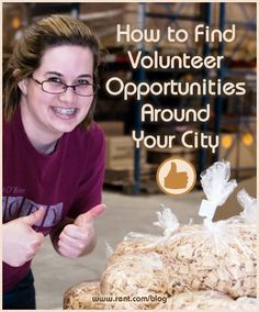 After moving to a new city, one of the great ways to meet people and give back to your community taking advantage of volunteer opportunities. Here's how to find volunteer opportunities in your city. Volunteer Services, Volunteer Work, Volunteer Ideas, Places To Volunteer, Volunteer Overseas, Helping Hands, Helping Others, Community Service Projects