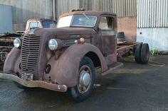 1937 Diamond T project truck