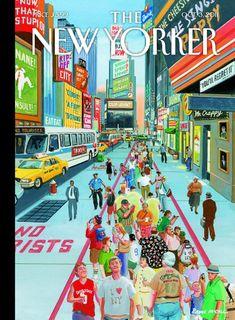 'The New Yorker', en 35 portadas, por Jaime G. Mora en La aldea digital