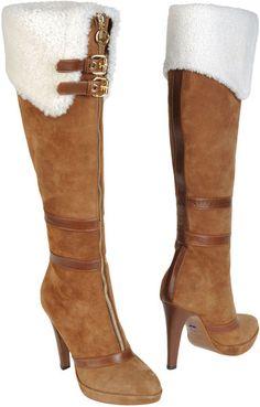 ALBERTO GAURDIANA High-heeled Boots-- I love these boots, but the heel  doesn't work where I live.