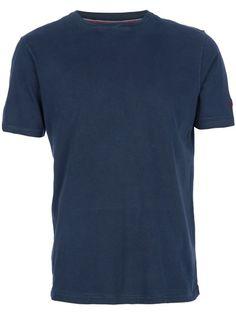 VINTAGE Camiseta Azul Marinho.