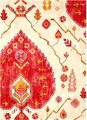 Shabby Chic Fabrics - Aubusson Coral