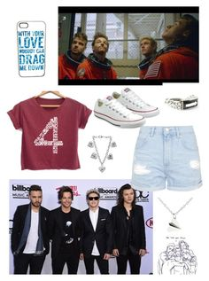 """""""Toronto Concert- 1D"""" by farah-future-malik on Polyvore featuring Topshop, Converse and Urban Boulder"""