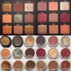 I also wanted to post this picture of an overview of the Natasha Denona Star Palette vs my ColourPop dupes
