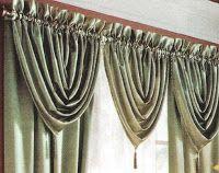 El costurero de Stella: Tres cortinas diferentes con un molde.