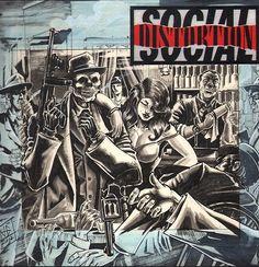 Social Distortion art work