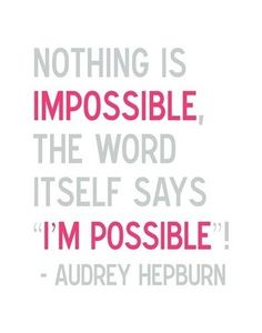 Adrey Hepburn quote