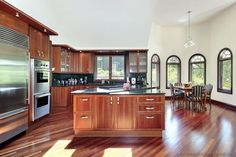 #Kitchen Idea of the Day: Cherry-Colored Kitchens - Gallery -