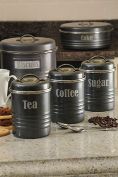 Typhoon Vintage Kitchen Storage Canisters #home