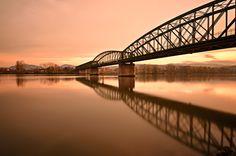 Brigde Reflection by Csilla Zelko, via 500px