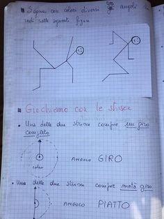 "Angoli ""Appunti di geometria "" Kindergarten Math, Math Activities, Bullet Journal, Coding, Math Equations, School, Books, Maths, Aldo"