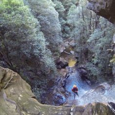 Abseiling & Canyoning Around Australia's Empress Falls