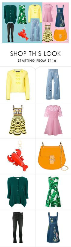 """""""latest fashion trends"""" by monica022 ❤ liked on Polyvore featuring Boutique Moschino, Rejina Pyo, Mary Katrantzou, Valentino, Tory Burch, Twin-Set, Dolce&Gabbana, Alexander McQueen and vintage"""
