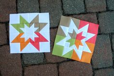 8 Star Quilt Blocks
