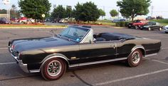 67 Olds 442 convertible