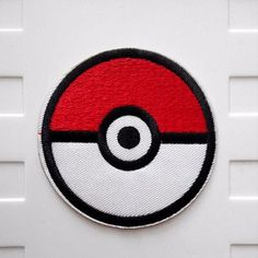 Pokemon Pokeball Pikachu Iron On Patch by bearemblems on Etsy