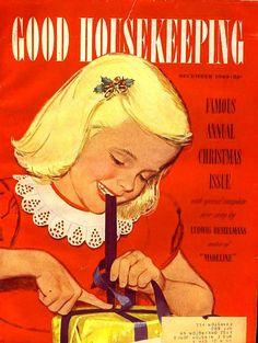 Vintage Christmas Magazine ~ Good Housekeeping © December 1949