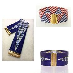 Fermoir Beadslide pour tissage de perles à clipser décoré 22x13mm - Perles & Co