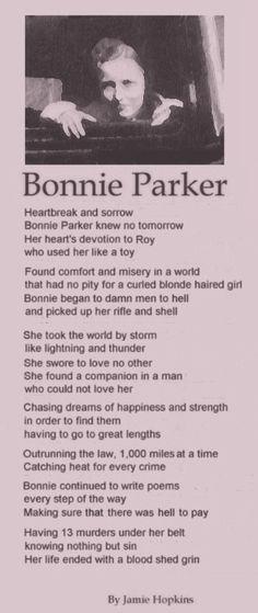 Bonnie Parker's poems