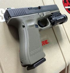 If they are making Glocks in Foliage green, I'm going to lose it.