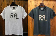 7068cb573bb0 RRL (DOUBLE RL) Crewneck Tee Tee Shirt Designs