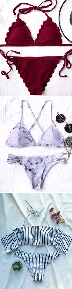 Swimwear in Zaful |swimsuits,bathing suit,bikini,bikini set,one pieces,swimwear 2017,beach outfit,bikinis,beach,beach wear,Hawaii,summer bikinis | #Bikini