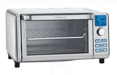 nice Cuisinart TOB-100 Compact Digital Toaster Oven Broiler http://honestjuicerreviews.com/toasters/cuisinart-compact-toaster/