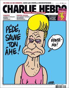Brain Magazine - Page Pute - Charlie: chouette, elle y était aussi